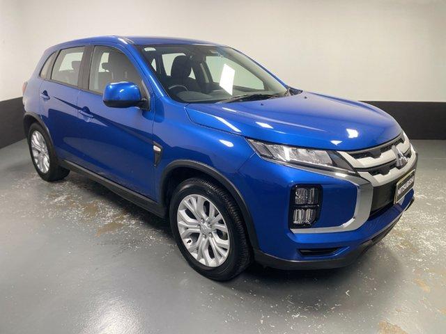 Used Mitsubishi ASX XD MY20 ES 2WD Hamilton, 2019 Mitsubishi ASX XD MY20 ES 2WD Blue 1 Speed Constant Variable Wagon