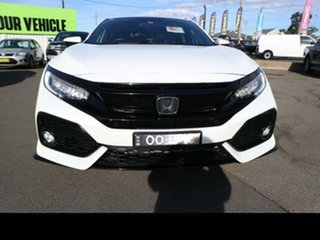 2017 Honda Civic MY17 RS White Continuous Variable Hatchback