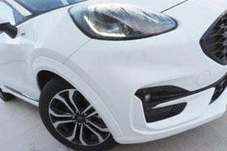 2021 Ford Puma JK 2021.25MY ST-Line Frozen White 7 Speed Sports Automatic Dual Clutch Wagon.