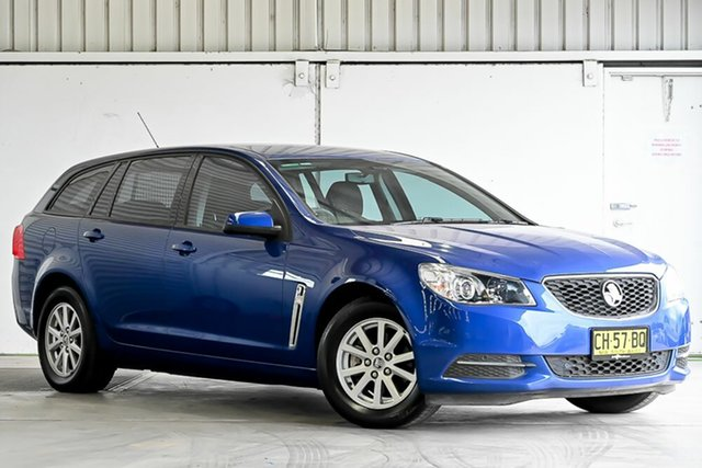 Used Holden Commodore VF II MY16 Evoke Sportwagon Laverton North, 2016 Holden Commodore VF II MY16 Evoke Sportwagon Blue 6 Speed Sports Automatic Wagon