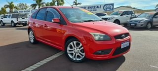 2008 Ford Focus LT Zetec Red 4 Speed Sports Automatic Hatchback.