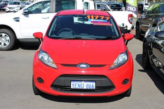 2012 Ford Fiesta WT CL Red 5 Speed Manual Hatchback.