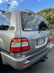 2005 Toyota Landcruiser UZJ100R GXL Silver 5 Speed Manual Wagon