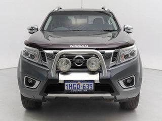 2016 Nissan Navara D23 Series II ST-X (4x4) (Sunroof) Grey 7 Speed Automatic Dual Cab Utility.