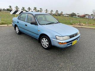 1995 Toyota Corolla AE102X Conquest Blue 4 Speed Automatic Sedan.