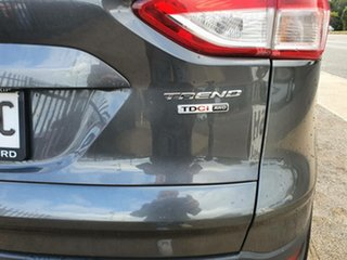 2016 Ford Kuga TF MY16.5 Trend PwrShift AWD Black 6 Speed Sports Automatic Dual Clutch Wagon