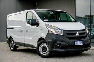 2021 Mitsubishi Express SN MY21 GLX SWB DCT White 6 Speed Automatic Van.