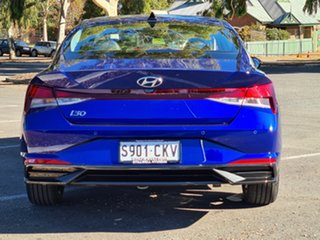 2021 Hyundai i30 CN7.V1 MY21 Active Intense Blue 6 Speed Sports Automatic Sedan