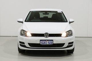 2017 Volkswagen Golf AU MY17 92 TSI Trendline White 7 Speed Auto Direct Shift Hatchback.