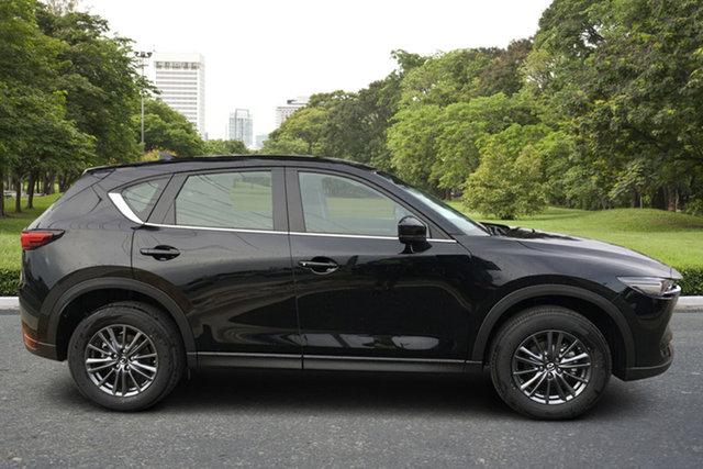 Demo Mazda CX-5 KF2W7A Maxx SKYACTIV-Drive FWD Sport Paradise, 2021 Mazda CX-5 KF2W7A Maxx SKYACTIV-Drive FWD Sport Jet Black 6 Speed Sports Automatic Wagon