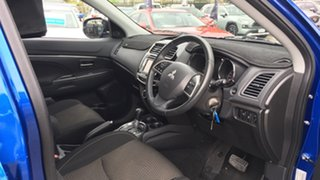 2015 Mitsubishi ASX XB MY15 LS 2WD Blue 6 Speed Constant Variable Wagon