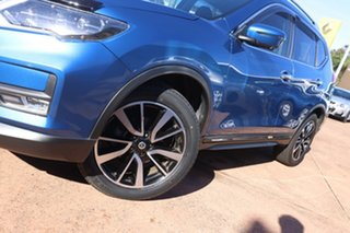 2018 Nissan X-Trail T32 Series 2 TI (4WD) Blue Continuous Variable Wagon.