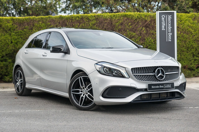 Certified Pre-Owned Mercedes-Benz A-Class W176 806MY A200 D-CT Berwick, 2016 Mercedes-Benz A-Class W176 806MY A200 D-CT Polar Silver 7 Speed Sports Automatic Dual Clutch
