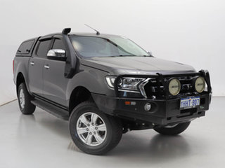 2017 Ford Ranger PX MkII MY18 XLT 3.2 (4x4) Grey 6 Speed Manual Double Cab Pick Up.