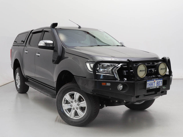 Used Ford Ranger PX MkII MY18 XLT 3.2 (4x4), 2017 Ford Ranger PX MkII MY18 XLT 3.2 (4x4) Grey 6 Speed Manual Double Cab Pick Up