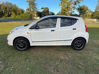 2010 Suzuki Alto GF GL White 5 Speed Manual Hatchback