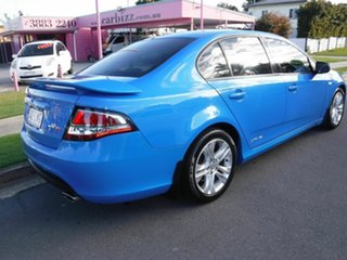 2009 Ford Falcon FG XR6 Blue 5 Speed Automatic Sedan.
