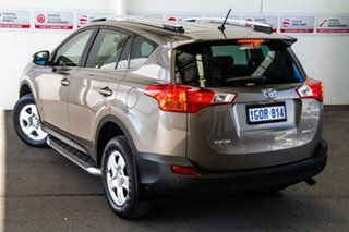 2013 Toyota RAV4 ZSA42R GX (2WD) Liquid Bronze Continuous Variable Wagon.