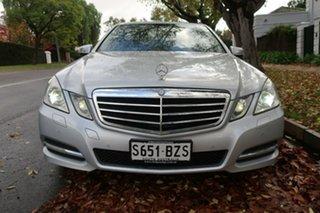 2010 Mercedes-Benz E-Class W212 E250 CGI Avantgarde Silver 5 Speed Sports Automatic Sedan.