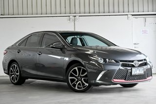2017 Toyota Camry ASV50R Atara SX Graphite 6 Speed Sports Automatic Sedan.