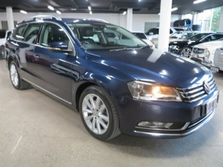 2014 Volkswagen Passat Type 3C MY15 130TDI DSG Highline Blue 6 Speed Sports Automatic Dual Clutch.