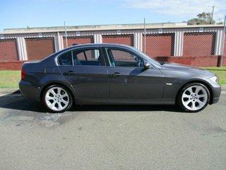 2006 BMW 3 Series E90 325i Steptronic Grey 6 Speed Sports Automatic Sedan.