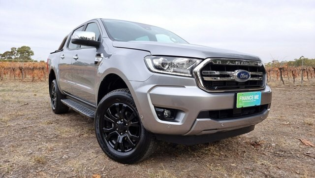 Used Ford Ranger PX MkIII 2019.75MY XLT Nuriootpa, 2019 Ford Ranger PX MkIII 2019.75MY XLT Silver 6 Speed Sports Automatic Double Cab Pick Up