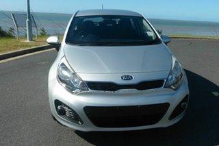 2014 Kia Rio UB MY14 SI Silver 6 Speed Sports Automatic Hatchback