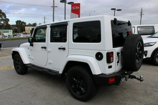 2018 Jeep Wrangler JK MY18 Unlimited Overland White 5 Speed Automatic Hardtop