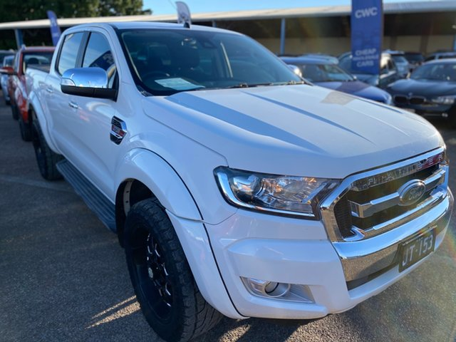 Used Ford Ranger PX MkII XLT Double Cab Wickham, 2016 Ford Ranger PX MkII XLT Double Cab White 6 Speed Sports Automatic Utility