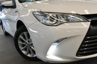 2017 Toyota Camry AVV50R MY16 Altise Hybrid Diamond White Continuous Variable Sedan.