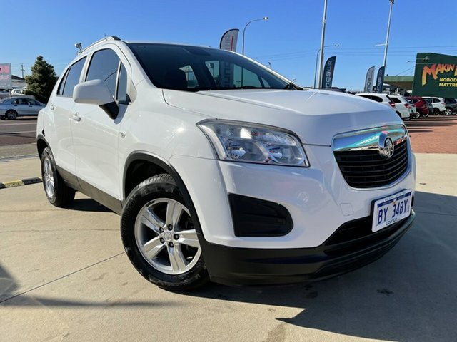 Used Holden Trax TJ MY14 LS Victoria Park, 2014 Holden Trax TJ MY14 LS White 5 Speed Manual Wagon