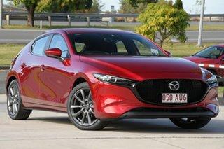 2020 Mazda 3 BP2HLA G25 SKYACTIV-Drive Evolve Soul Red 6 Speed Sports Automatic Hatchback.