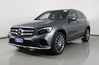 2018 Mercedes-Benz GLC250 253 MY18 Graphite 9 Speed Automatic Wagon.