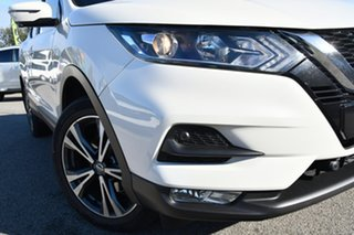 2018 Nissan Qashqai J11 Series 2 ST-L X-tronic White 1 Speed Constant Variable Wagon.