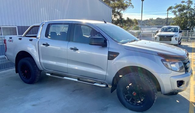 Used Ford Ranger PX XL Cardiff, 2013 Ford Ranger PX XL Silver 6 Speed Manual Utility