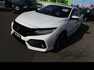 2017 Honda Civic MY17 RS White Continuous Variable Hatchback.
