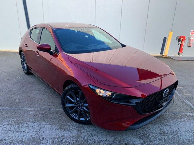 New Mazda 3 BP2HLA G25 SKYACTIV-Drive Evolve Alexandria, 2021 Mazda 3 BP2HLA G25 SKYACTIV-Drive Evolve Soul Red Crystal 6 Speed Sports Automatic Hatchback