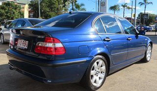 2004 BMW 318i E46 Blue 5 Speed Auto Steptronic Sedan.