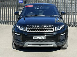 2017 Land Rover Range Rover Evoque L538 MY18 TD4 180 HSE Black 9 Speed Sports Automatic Wagon.