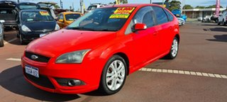 2008 Ford Focus LT Zetec Red 4 Speed Sports Automatic Hatchback