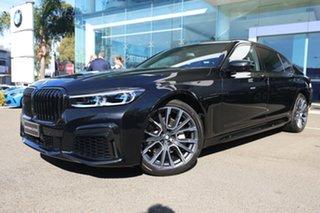 2020 BMW 730Ld G12 30LD Black Sapphire 8 Speed Automatic Sedan.