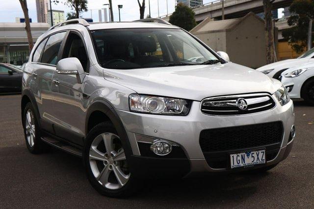 Used Holden Captiva CG MY13 7 AWD LX South Melbourne, 2013 Holden Captiva CG MY13 7 AWD LX Nitrate 6 Speed Sports Automatic Wagon