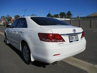 2007 Toyota Aurion GSV40R Prodigy White 6 Speed Sports Automatic Sedan