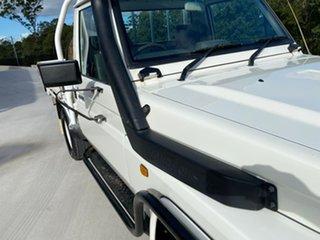 1999 Toyota Landcruiser HZJ75RP White 5 Speed Manual Cab Chassis