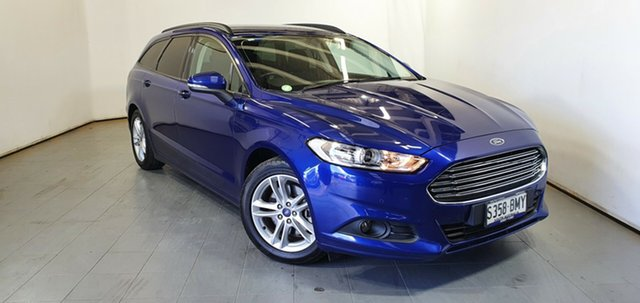 Used Ford Mondeo MD Ambiente Elizabeth, 2015 Ford Mondeo MD Ambiente Blue 6 Speed Sports Automatic Dual Clutch Wagon