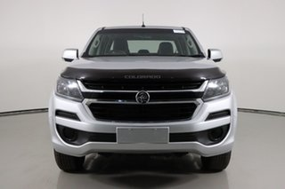 2019 Holden Colorado RG MY20 LS (4x4) Silver 6 Speed Automatic Crew Cab Pickup.