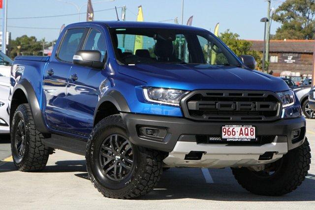 Used Ford Ranger PX MkIII 2019.00MY Raptor Aspley, 2018 Ford Ranger PX MkIII 2019.00MY Raptor Blue 10 Speed Sports Automatic Utility