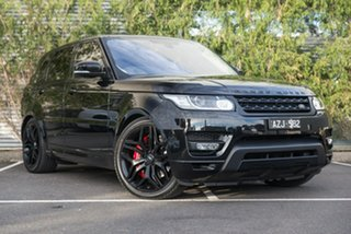 2016 Land Rover Range Rover Sport L494 16.5MY SDV8 HSE Dynamic Black 8 Speed Sports Automatic Wagon.