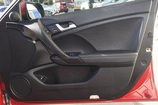 2011 Honda Accord Euro CU MY12 Luxury Red 5 Speed Automatic Sedan